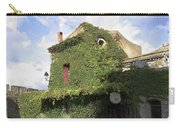 Ivy Covered Cottage Carry-all Pouch
