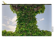 Ivy Covered Cross Carry-all Pouch