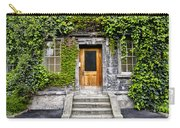 Ivy Covered Doorway - Trinity College Dublin Ireland Carry-all Pouch