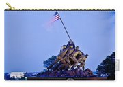 Iwo Jima Memorial At Dusk Carry-all Pouch