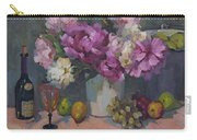 J. P. Chenet And Peonies Carry-all Pouch