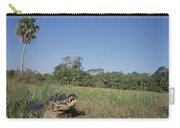 Jacare Caiman In Marshland Pantanal Carry-all Pouch