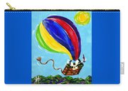 Jack And Charlie Fly Away Carry-all Pouch