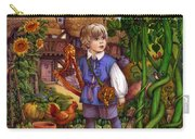 Jack And The Beanstalk By Carol Lawson Carry-all Pouch