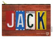 Jack License Plate Name Sign Fun Kid Room Decor Carry-all Pouch