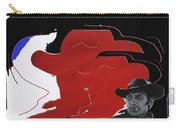 Jack Palance Orange Collage Monte Walsh Set Old Tucson Arizona 1969-2012 Carry-all Pouch