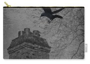 Jackdaw Flying To Chimney Carry-all Pouch