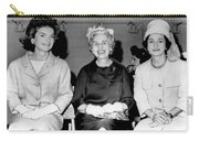 Jackie Kennedy At Luncheon Carry-all Pouch