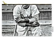 Jackie Robinson Painting Carry-all Pouch