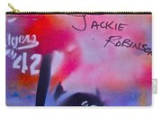 Jackie Robinson Red Carry-all Pouch