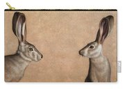 Jackrabbits Carry-all Pouch by James W Johnson