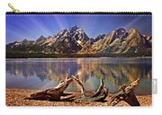 Jackson Lake Mt. Moran Carry-all Pouch by Marty Koch