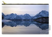 Jackson Lake Reflections Carry-all Pouch