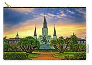 Jackson Square Evening - Paint Carry-all Pouch