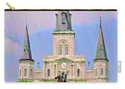 Jackson Square In The French Quarter Carry-all Pouch
