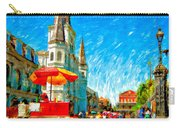 Jackson Square Painted Version Carry-all Pouch