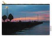 Jackson Street Pier - Sunset Carry-all Pouch