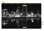 Jacksonille Black And White Night Carry-all Pouch