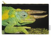Jacksons Chameleon Male East Africa Carry-all Pouch