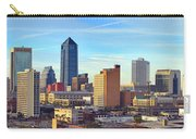 Jacksonville Skyline Morning Day Color Panorama Florida Carry-all Pouch
