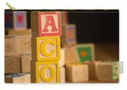 Jacob - Alphabet Blocks Carry-all Pouch