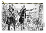 Jacques Cartier (1491-1577) Carry-all Pouch