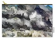 Jagged And Flowing Carry-all Pouch