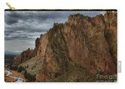 Jagged Peaks At Smith Rock Carry-all Pouch