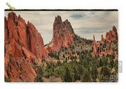 Jagged Peaks Of The Gods Carry-all Pouch