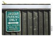 Jaguar Car Park Carry-all Pouch by Joana Kruse