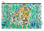 Jaguar - Enamels Painting Carry-all Pouch