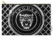 Jaguar Grille Emblem -0317bw Carry-all Pouch