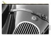 Jaguar Hood Emblem - Grille Carry-all Pouch by Jill Reger