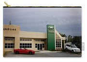 Jaguar Land Rover At Dusk Carry-all Pouch