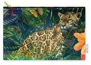 Jaguar Meadow Carry-all Pouch