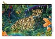 Jaguar Meadow  Variant 1 Carry-all Pouch