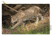 Jaguar Panthera Onca Foraging Carry-all Pouch