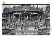 Jain Temple Monochrome Carry-all Pouch
