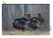 Jake Eastern Wild Turkeys Carry-all Pouch by Linda Freshwaters Arndt
