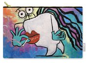 Jamaican Tooth Carry-all Pouch by Anthony Falbo