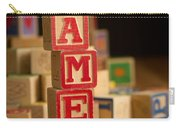 James - Alphabet Blocks Carry-all Pouch