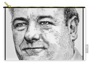 James Gandolfini In 2007 Carry-all Pouch