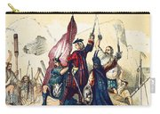 James IIi Lands In Scotland, 1715 Carry-all Pouch