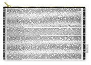 James Madison Memorial Carry-all Pouch