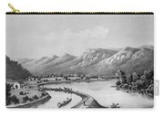James River Canal, 1857 Carry-all Pouch