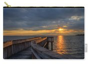 James River Sunset Riverview Pier Carry-all Pouch