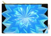 jammer Blue Shimmer Lotus Carry-all Pouch