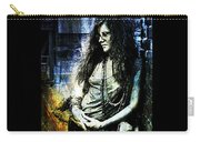 Janis Joplin - Blue Carry-all Pouch
