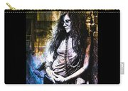 Janis Joplin - Gold Carry-all Pouch