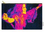 Janis Joplin Psychedelic Fresno 2 Carry-all Pouch by Joann Vitali